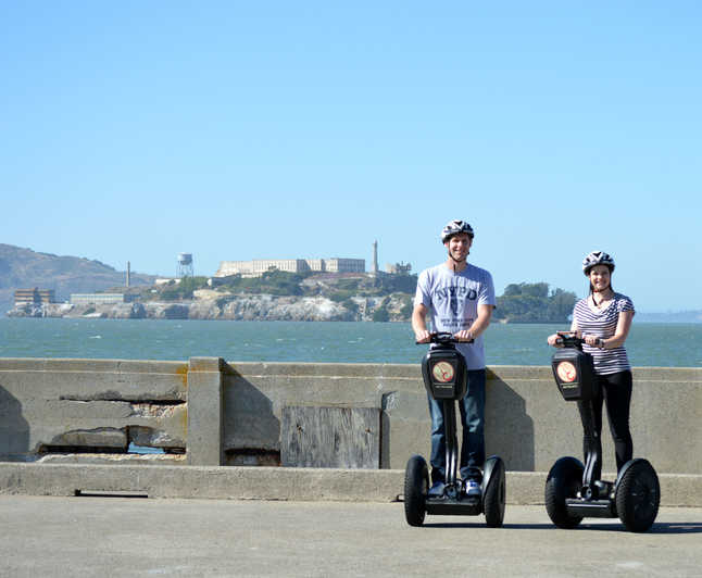 Segway and Alcatraz tour